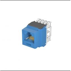 [Pre-Order] NetKey CAT6A UTP Keystone Jack, Blue